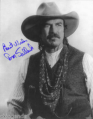 644ebd0a1aa0b TOM SELLECK Quigley Down Under TOM-X01 Autographed Reprint 8