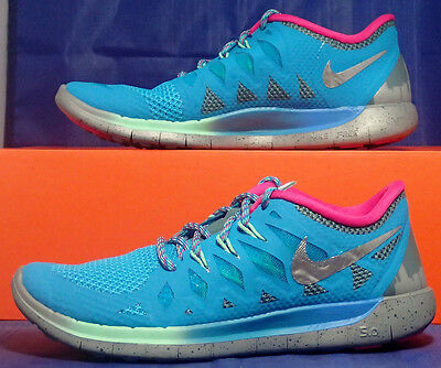 WOMENS NIKE FREE 5.0 DB Run SZ 8 ( 728651 400 ) $109.99