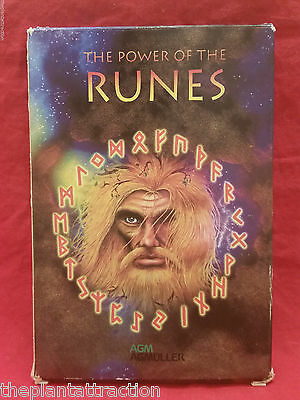 Power Of The Runes Oracle 25 Cards English 12539, Spiritual Intuition Psyche