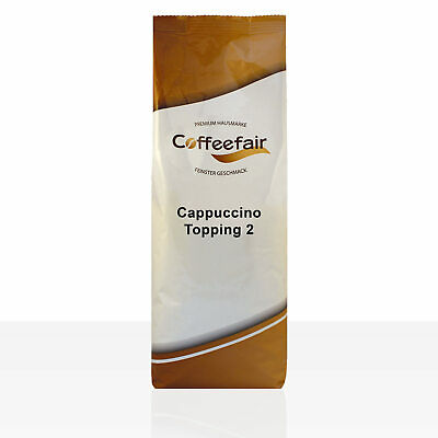 Coffeefair Cappuccino Topping II - 1kg Milchpulver Instant-Milch