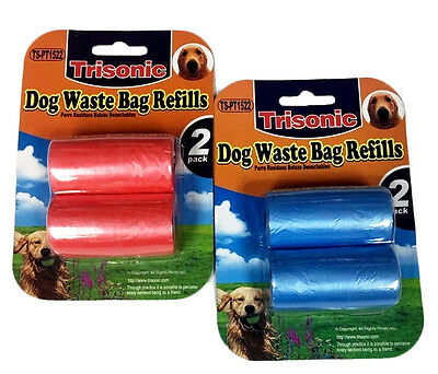 80 Count Coreless Unscented 4 Refill Rolls Dog Poop Pick Up Clean PET WASTE BAG