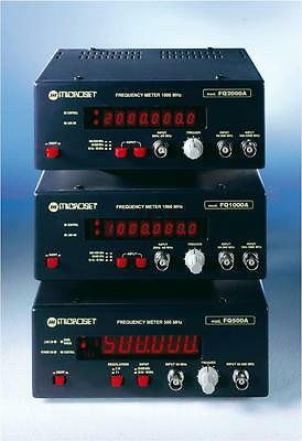 Frequency meter 20 Hz-500 MHz 6 digits Microset FQ500A