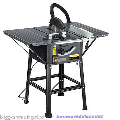 WOODSTAR ST10e 10 INCH TABLE SAW BENCH SAW 1500W 230V
