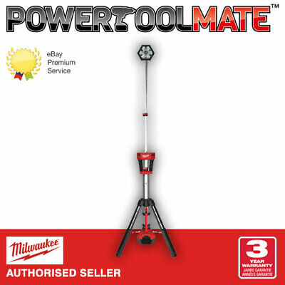 Milwaukee M18SAL-0 18v TrueView LED Stand Light - Naked - Body Only
