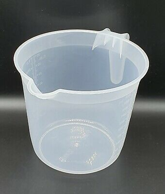 Kitchen Food Grade Plastic Measuring Jug - Gravy Stock Cake - 3 Litre 3000 Ml