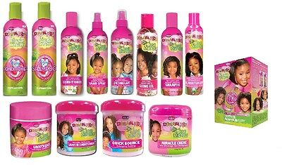 African Pride Dream Kids Moisturising Detangling Afro Hair Care Styling Products