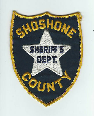 VINTAGE SHOSHONE COUNTY, ID SHERIFF'S DEPT. patch