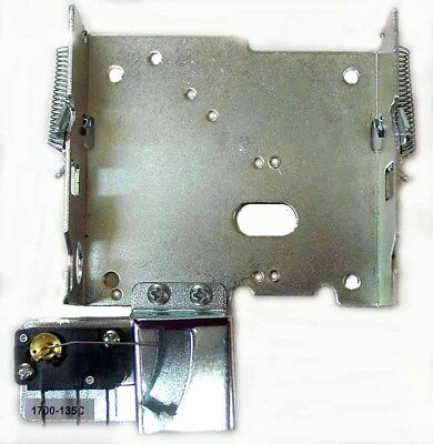 New 1700 Coin Mechanism Mounting Bracket w/Switch & Chute Assembly