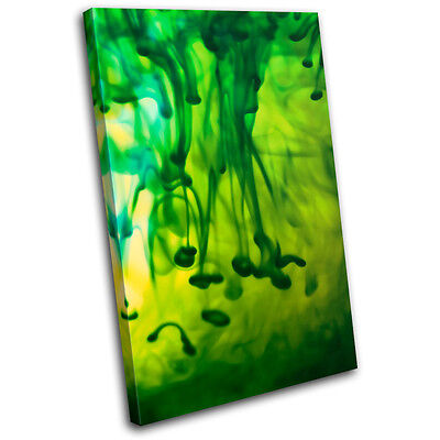 Abstract Swirling Droplet Canvas Art Picture Print Decorative Photo