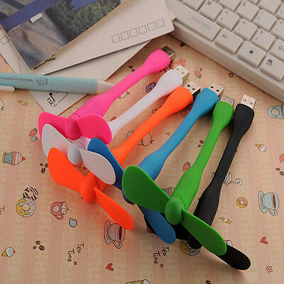 Cute Colors Portable USB Mini Fan Xiaomi Charge For all Power Supply USB Output