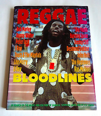 REGGAE BLOODLINES JAPAN PHOTO & TEXT BOOK 1994 Bob Marley Peter Tosh Lee Perry