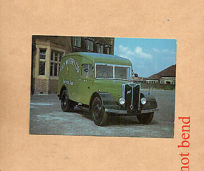 Guy Wolf Service Van Postcard Colour card Guy Motors Wolverhampton