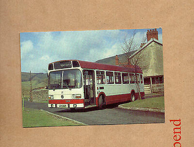 Postcard Bus Cynon Valley Borough Council 1976 Leyland National  unposted