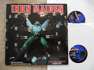 Iron Maiden ‎– Live In London December 19, 1985 - 2 LP