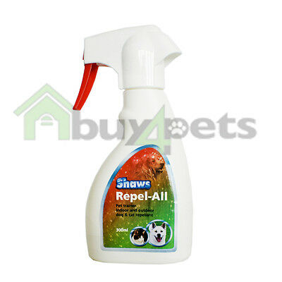 Shaws Repel All Training Repellent Spray for Dogs and Cats Indoor Outdoor