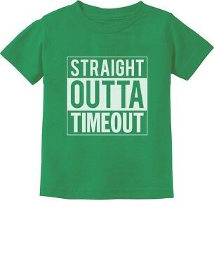 Straight Outta Timeout Funny Toddler/Infant Kids T-Shirt Children's