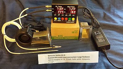 QMaster BBQ Automatic Temperature Controller With B Fan Adapter for BGE med & Lg