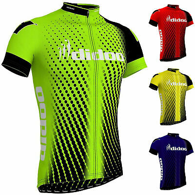 Didoo New Men's Cycling Jersey Top Quality Team Biking Summer Half Sleeve TShirt