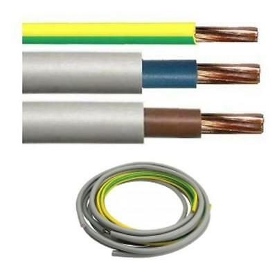Set Double Insulated Brown & Blue 6181Y Meter Tails + 6491X Earth 10mm 16mm 25mm