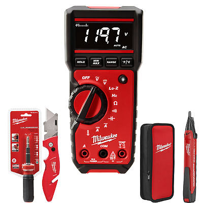 Milwaukee 4 Piece Electrical Test and Measurement Combo Kit 2220-20 New