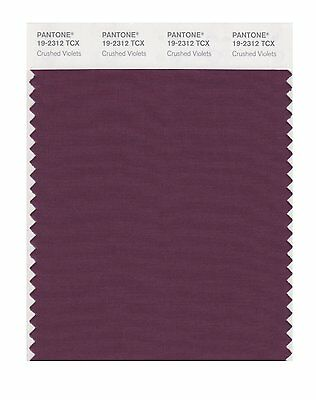 Pantone Smart Swatch 19-2312 Crushed Violets