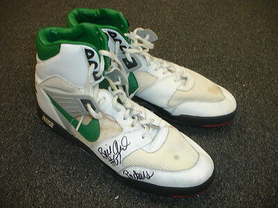 1989-91 Bill Ard Green Bay Packers Game Used Signed NIKE Football Turf Shoes