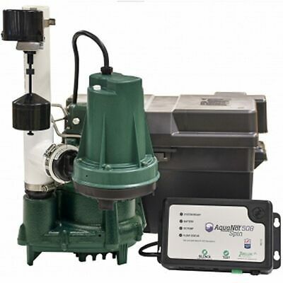 Zoeller ProPack98 - 1/2 HP Combination Primary & Backup Sump Pump System