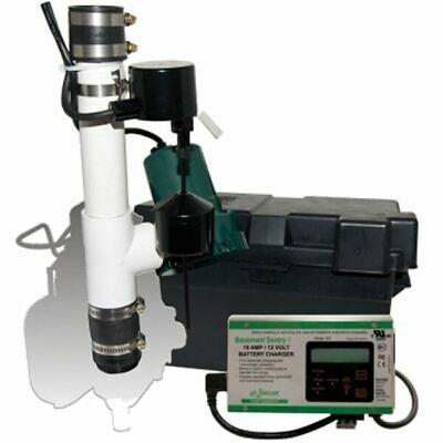 Zoeller 507-0005 - Sentry® Battery Backup Sump Pump System (900 GPH @ 10')