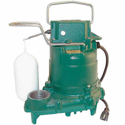 Zoeller M57 - 1/3 HP All Cast Iron Submersible Sump Pump w/ Vertical Float Sw...