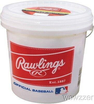 Rawlings Empty Bucket- Holds up to 24 Baseballs(Not included)
