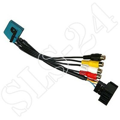 BMW AV Input Lead for X3 X5 E46 E85 E53 E39 E83 with Navi Pro and OEM TV Tuner