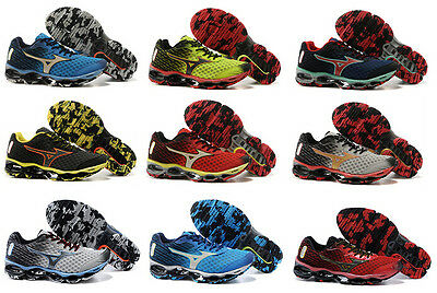 12 Style New Mizuno Wave Prophecy 4 Running Men's Shoes Sneakers US:7.5-11.5
