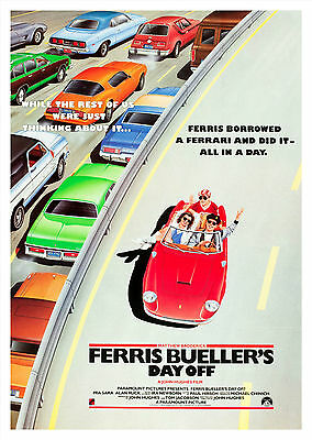 Ferris Bueller's Day Off (1986) V2 - A1/A2 POSTER **BUY ANY 2 AND GET 1 FREE**