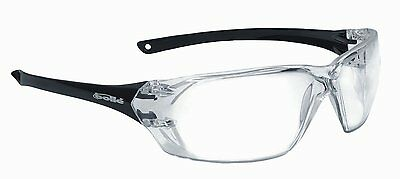 Bolle Prism CLEAR Sports Cycling / Safety Glasses  Spectacles Anti Scratch Mist
