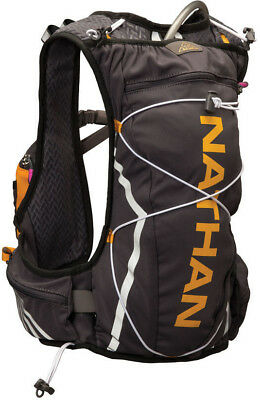 Nathan Vapor Shadow 11 Litre Womens Running Hydration Pack Grey Large/X-Large