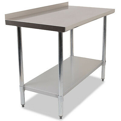 1500mm Commercial Stainless Steel Work Bench / Food Prep Table 1500x600x860