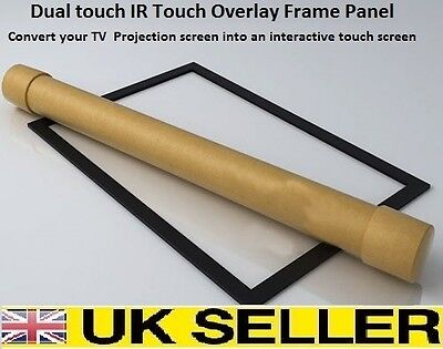"10 points touch IR  Overlay Touch Screen Frame Panel Interactive 32"" to 82"" 16:9"