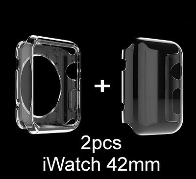 Apple Watch Protective Case Cover iWatch Bumper Clear Protector Full Cover