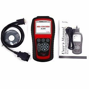 AUTEL AL619  AutoLink® AL619 ABS / SRS and OBDII / CAN Scan Tool