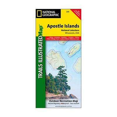 National Geographic 603113 235 Boots Apostle Islands Wisconsin