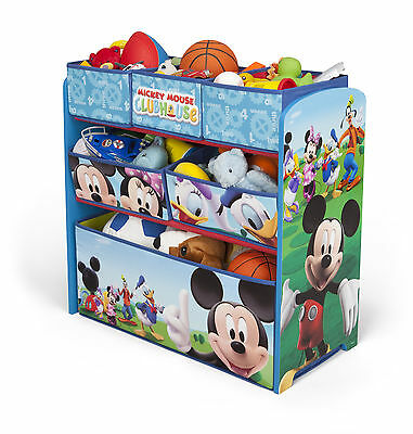 Spielzeugregal Mickey Maus Kinderregal Kinderbox Kisten Babyregal Juniorregal