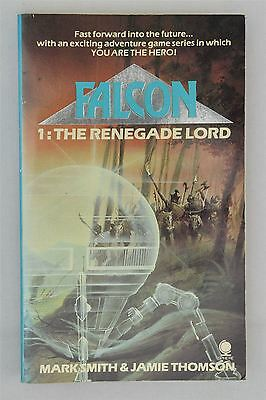 Falcon #1 The Renegade Lord Mark Smith Jamie Thomson 1985 Vintage 1st Gamebook
