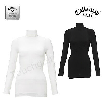 Callaway Golf Women/Ladies Seamless Turtleneck/Rollneck Base Top-BFFK0062-New.