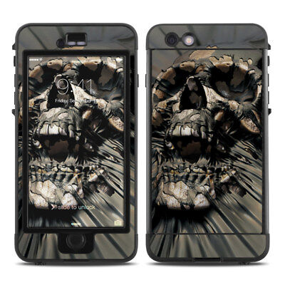 Skin for LifeProof NUUD iPhone 6 Plus/6S Plus - Skull Wrap - Sticker Decal