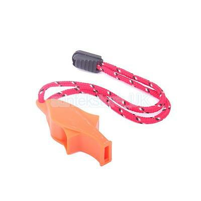 Outdoor Survival Emergency Safety Kit Loud Whistle for Hiking Camping Sports
