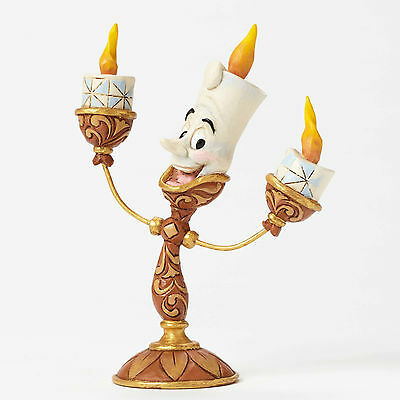 Jim Shore Disney Traditions Beauty and the Beast Lumiere 4049620 Ooh La La NEW