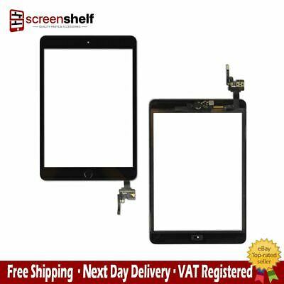 For Apple iPad Mini 3 Touch Glass Screen Digitizer Assembly Replacement - Black