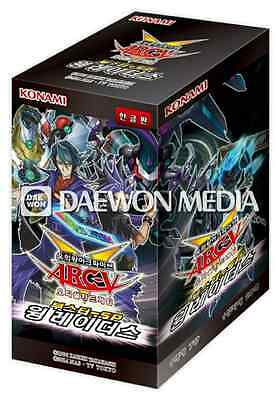 """Yugioh Cards Booster SP """"Wing Raiders"""" Booster Box / Korean Ver / 20Pack"""