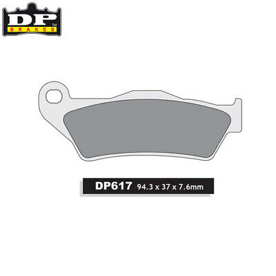 PIAGGIO X9 500 /Evo 2003-2007 DP Sintered Front Brake Pads DP617