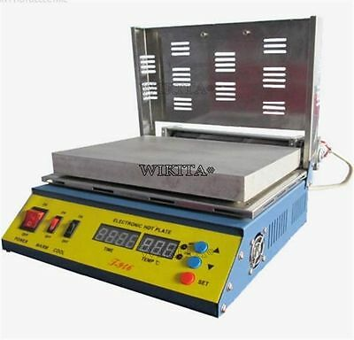 T946 Mcup Hot Plate Pcb Preheater Preheating Oven 800W 180X240mm 100% Warranty H